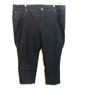 Plus Size blue Jeans size 24M NWOT